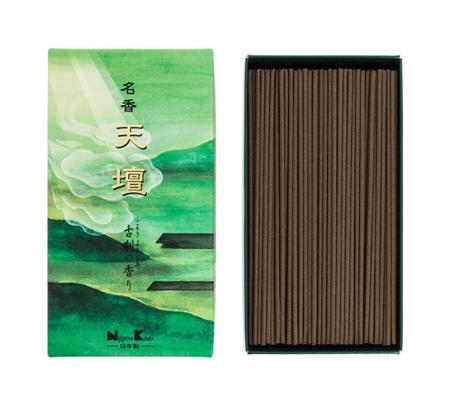 Japanese Incense | Tendan Old Temple Meiko (Spicy Sandalwood) | 300 Stick box
