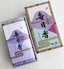 Japanese Incense Sticks | Nippon Kodo | Mainichikoh Moss | 300 Boxed (Sandalwood/Moss)