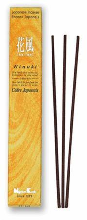 Japanese Incense | Nippon Kodo | Ka-fuh Hinoki | 50 Sticks | Low Smoke