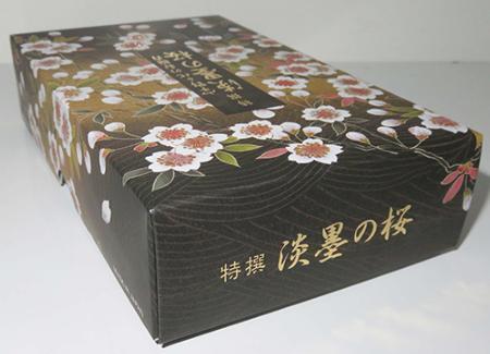 Tokusen Sakura Usazumi Incense   Box of 380 Sticks by Nippon Kodo