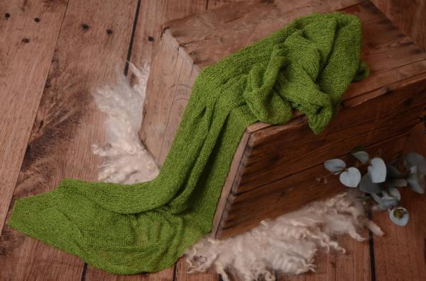 Green rayon wrap