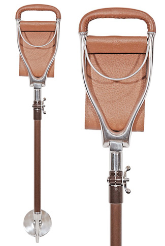 Tirion Shotover Adjustable Leather Seat Stick - Wide Sling
