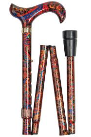 Fashion Folding Stick - Orient